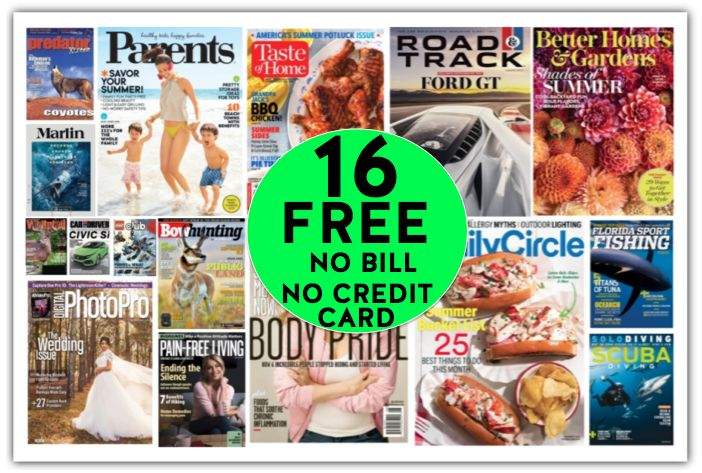 FREE One Year Subscription to Better Homes & Gardens Magazine Worth $41 {Plus FIFTEEN (15!) More FREE Magazine Subscriptions}!