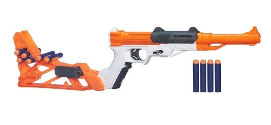 nerf n strike sharp fire blaster 12-7