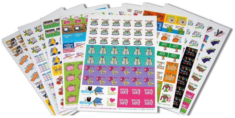 planner stickers 12-19