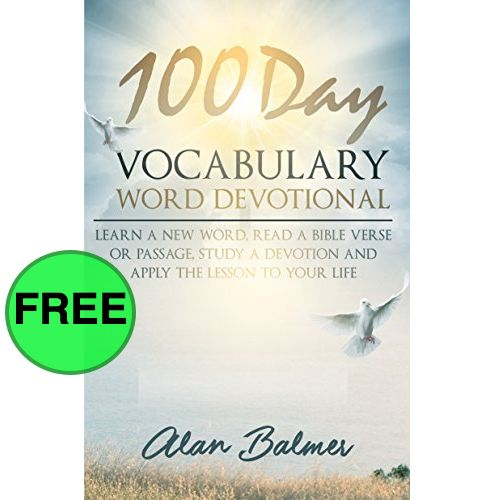 FREE 100 Day Vocabulary Word Devotional! {Hurry! Ends at 3pm EST!)