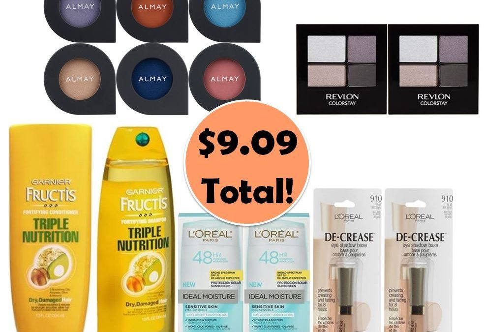 For Only $9.09, Grab (2) Hair Care, (2) Moisturizers, (2) Eye Shadow Quads, (2) Eye Shadow Primers & (6) Almay Eye Shadows This Week at CVS!