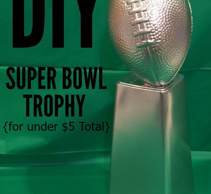 How To Make A Football Trophy For Guaranteed Party Triumph