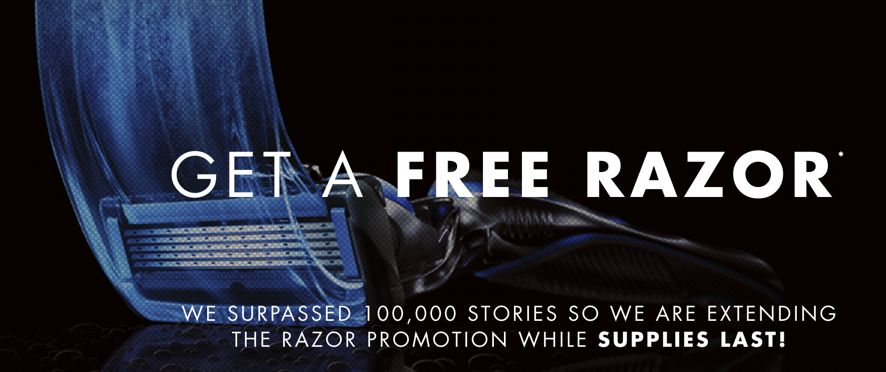 FREE Gillette Razor! {and it's NOT a disposable one!}