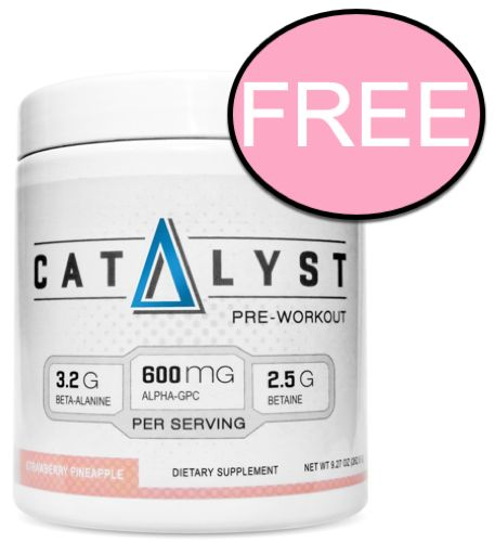 FREE Momentum Nutrition Pre-Workout Supplement!