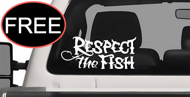 FREE Vinyl Car Decal!