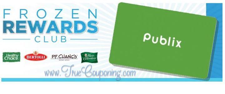Publix Frozen Rewards Club Header