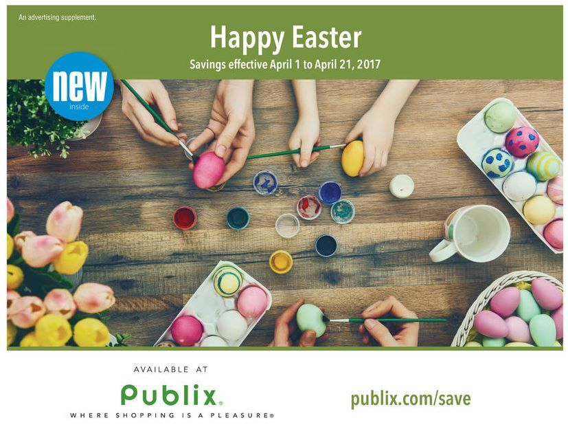 Guess What Time It Is? Publix Green Flyer Time! And This Ad Has ONE FREEbie & TEN (10) Deals 67¢ Each or Less! Whoa! {Ad Runs 4/1 – 4/21}