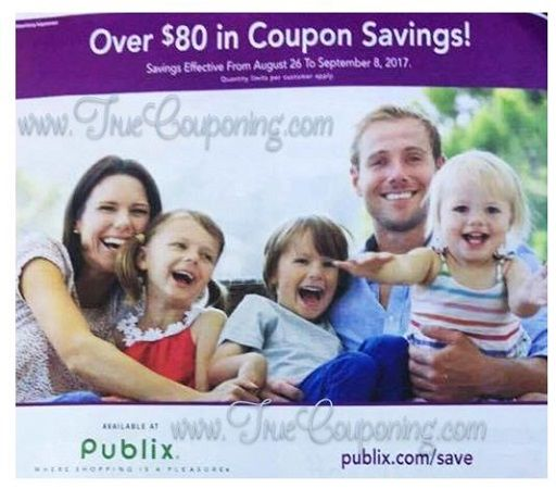 It's Time For The New Publix Purple Flyer! And It Has (35!) Store Coupons Inside! {Ad Runs 8/26 – 9/8}