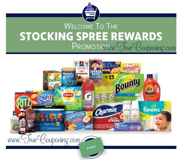 """THREE (3!) Weeks Left to Log Your Publix """"Stocking Spree Rewards""""! ~ Ends 12/31/17!"""