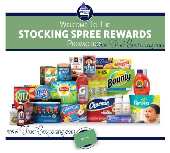 Publix Stocking Spree Rewards 2017