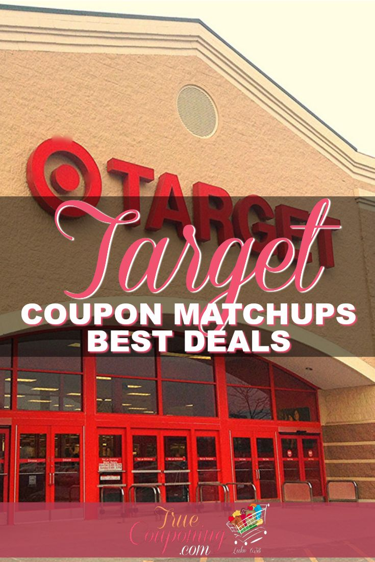 You've GOTTA check out the CRAZY Good Deals at Target this week!