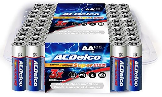 ac delco aa batteries 1-6