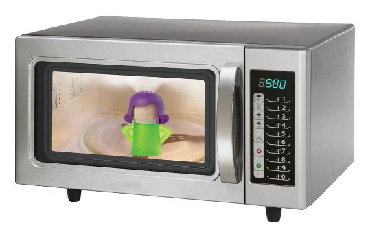 Make Cleaning Your Microwave SUPER Easy