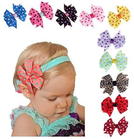 baby bow headbands 1-31