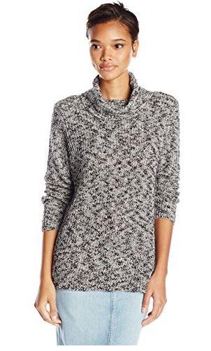 cotton slub turtleneck sweater 1-5