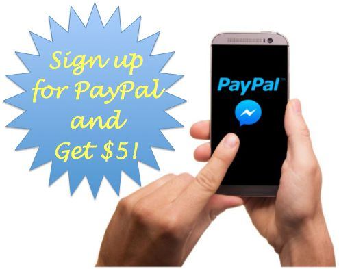FREE $5 from PayPal!