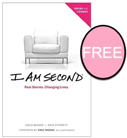 I Am Second. (Aren't You Too?!) {FREE eBook Reg. $16.99}