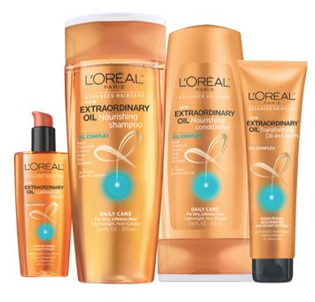 FREE L'Oreal Extraordinary Oil Hair Care!