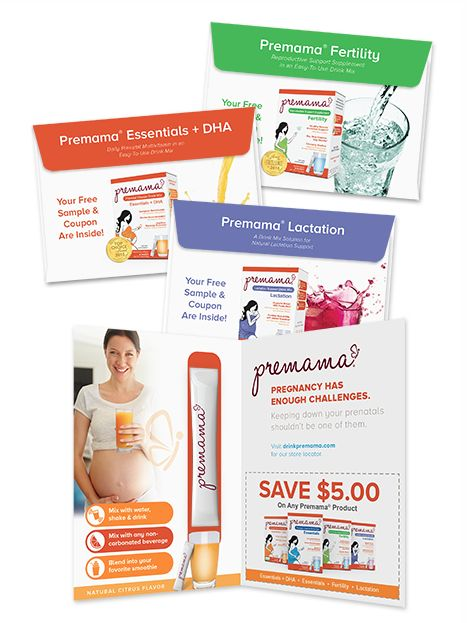 FREE Premama Prenatal Vitamins PLUS $5 Off Coupon!