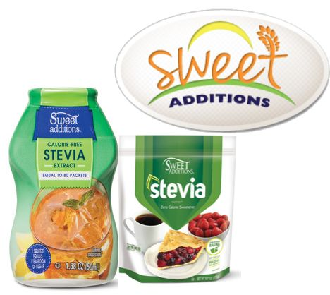 FREE Sweet Additions Natural Sweetner!