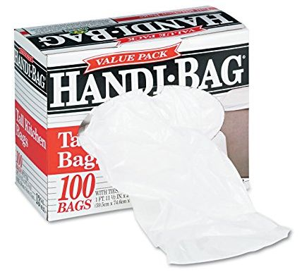 handi-bag trash bags 1-6