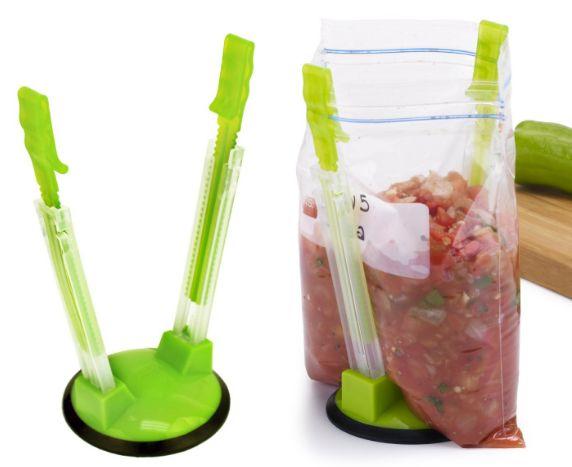 hands-free storage bag holder 1-9