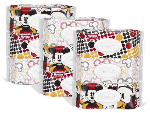 huggies wipes 9 softpacks 1-6