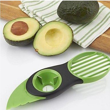 multi-function avocado cutter 1-4