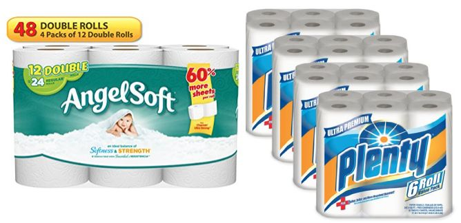paper towels toilet paper 1-17