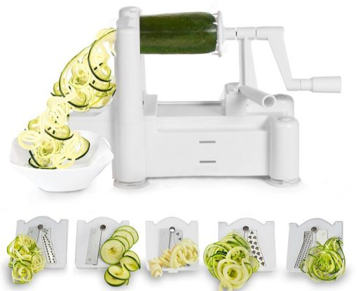 vegetable spiralizer 1-9