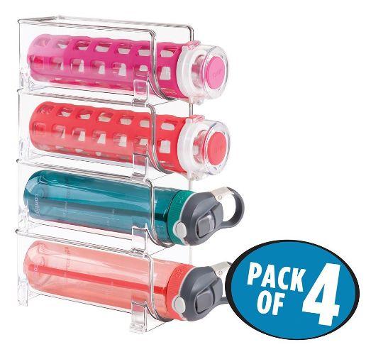 water bottle storage rack 1-4