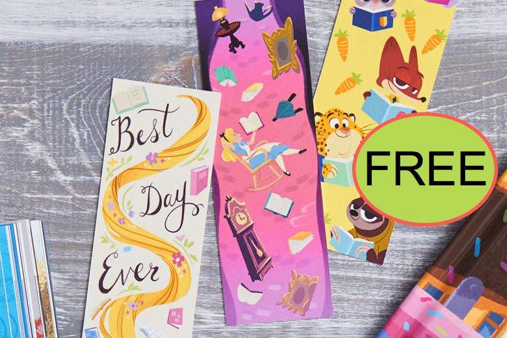 8 FREE Disney Bookmarks!