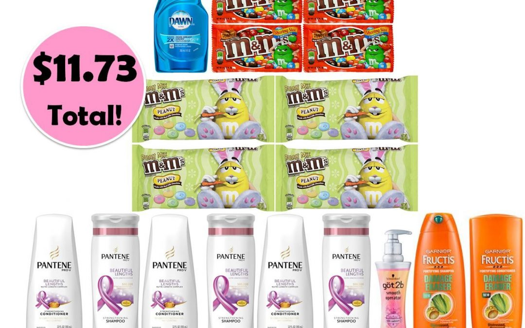 For Only $11.73, Grab (1) Dawn Dish Soap, (8) M&M's & (9) Hair Care This Week at CVS!