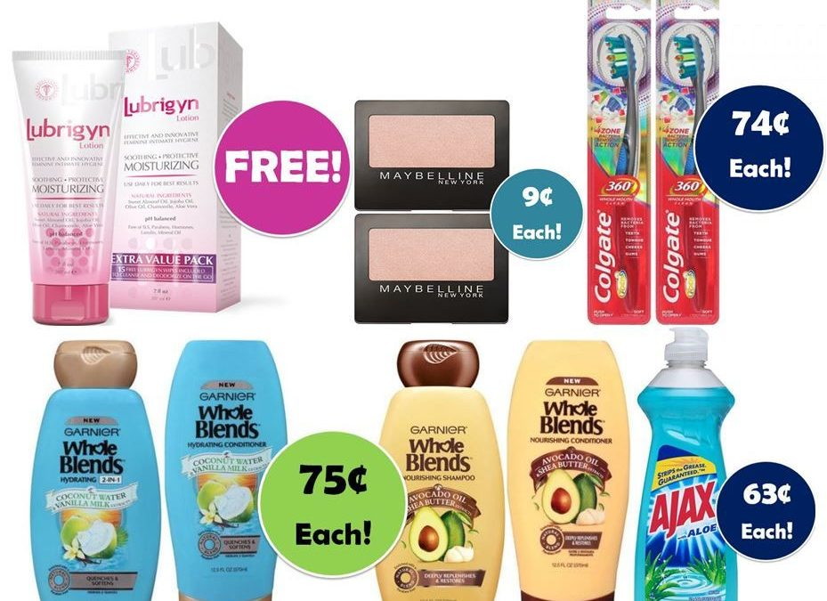 ONE FREEbie & FOUR Deals Just $0.75 Each or Less at CVS! ~ Ad Starts Today!