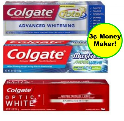 Don't Forget Your Money Maker Colgate Toothpaste at Walgreens! ~ Ends Saturday!