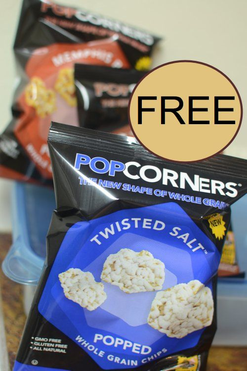 free popcorners chips yum. Black Bedroom Furniture Sets. Home Design Ideas
