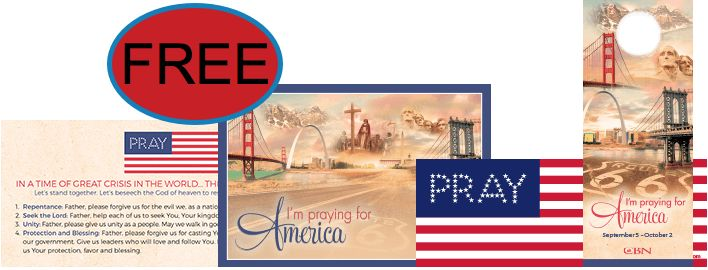 FREE Pray for America Resources!