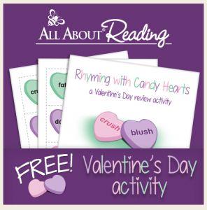 FREE Rhyming with Candies Printables!
