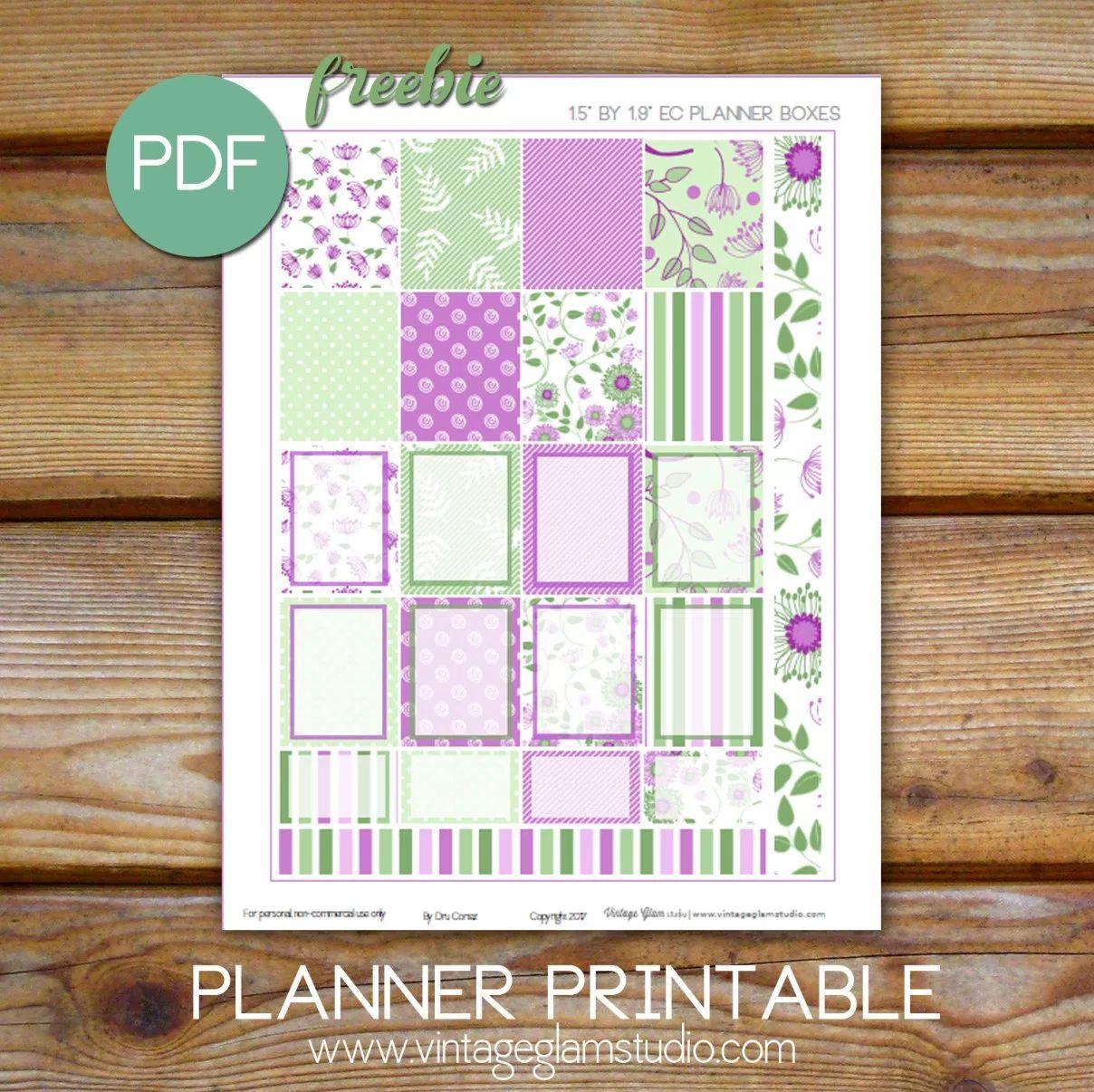 FREE Spring Planner Printables!