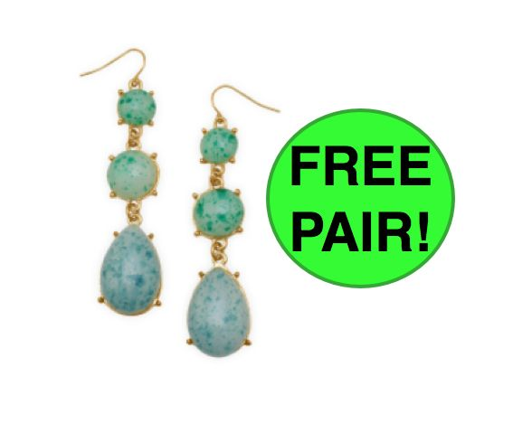 Don't Miss Your FREE Pair of Earrings…YES, FREE! {Even Shipped Free Too!}