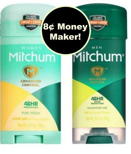 Get Paid to Buy TWO (2) Mitchum Deodorants at Walgreens! ~ Right Now!
