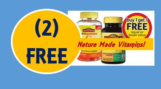 FREE Nature Made Vitamins at Winn Dixie! ~ Ends Tomorrow!