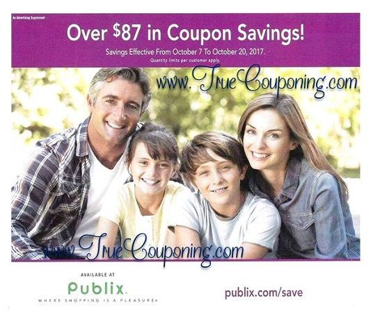 It's Time For The New Publix Purple Flyer! And It Has (26!) Store Coupons Inside! {Ad Runs 10/7 – 10/20}