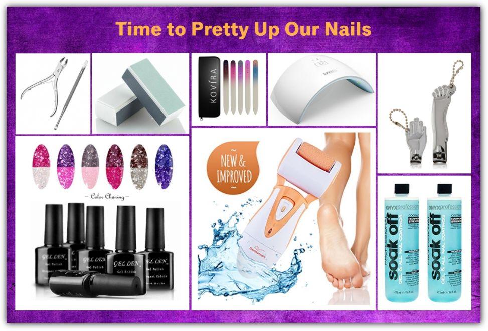 Nail Polish Remover Aidue 204 Pcs Uv Glitter Gel Nail Varnish