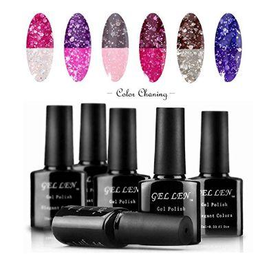 color changing nail gel polish 2-3