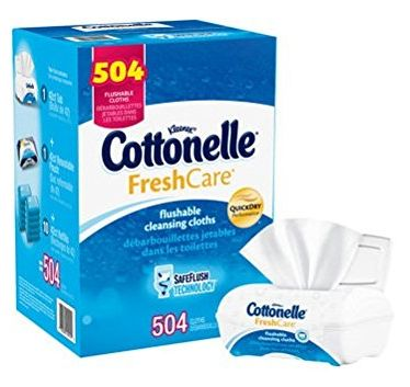 cottonelle flushable wipes 2-2