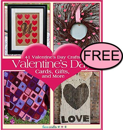 FREE Valentine's Day Crafts eBook!