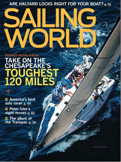 FREE Annual Subscription to Sailing World Magazine {$47 Value}!