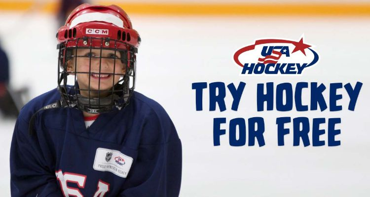 FREE Try Hockey for a Day!