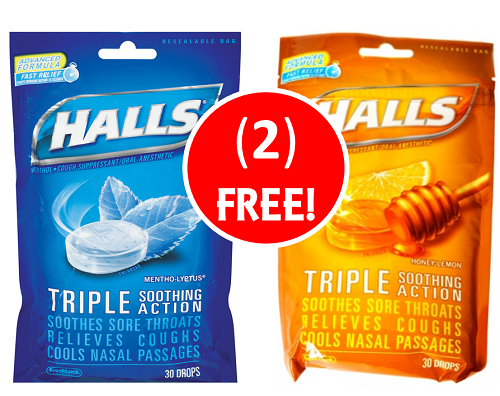 FREE-FREE HALLS COUGH DROPS! Relieve Your Cold with FREE Halls Cough Drops at Publix! ~ Starts Weds/Thurs!